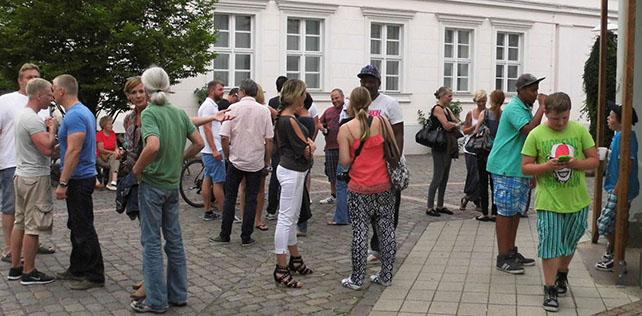 Konzert in der Marktstrasse