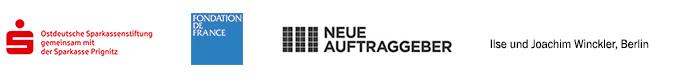 Mit freundlicher Unterstützung der Ostdeutschen Sparkassenstiftung gemeinsam mit der Sparkasse Prignitz, der Fondation de France und Ilse und Joachim Winckler.