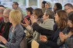 4 Publikum beim Kuratorengespräch im Februar 2018