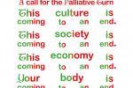 2 Flyer-Material der Association for the Palliative Turn
