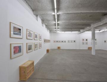 6 Full Colour Graphic Poetry, Ausstellungsansicht