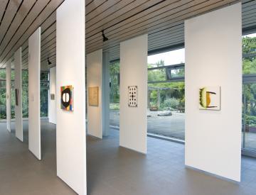 1 Alien, 2011, Blick in die Ausstellung