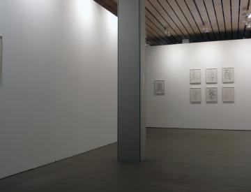 4 Chère Vitrine (II), Blick in die Ausstellung