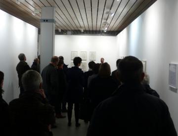 6 Chère Vitrine II, Ausstellungseröffnung
