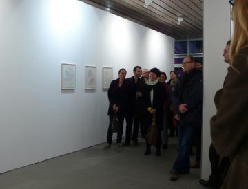 10 Chère Vitrine II, Ausstellungseröffnung