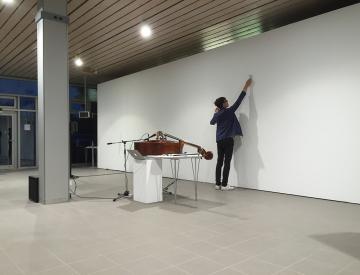 17 Die Ausstellungswand als Klangkörper