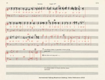 2 W. A. Mozart korrigiert seinen Schüler Thomas Attwood