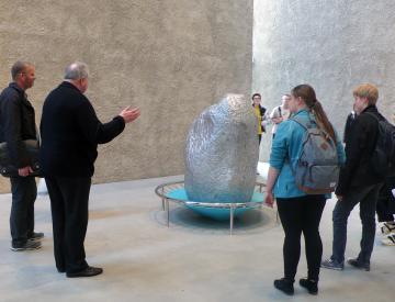 2 Museumsbesuch im Rahmen des TAS Projekts