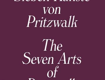 """2 Buchtitel """"Die Sieben Künste von Pritzwalk"""""""