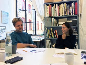 5 Timo Hinze und Anna Gille, Grafiker