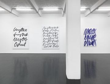 9 Ausstellungsansicht, Galerie Barbara Weiss