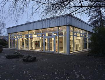 2 Der Brandenburg-Atlas - Blick auf den Pavillon