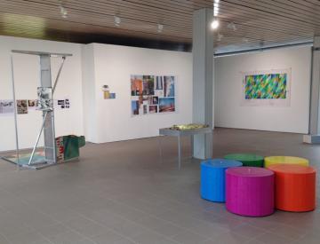9 expo - Blick in die Ausstellung