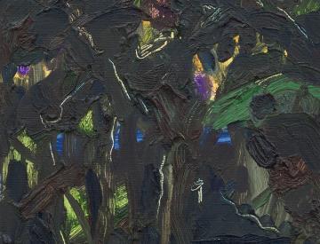 13 Clara Gesang-Gottowt: o.T., Öl auf Leinwand, 2014
