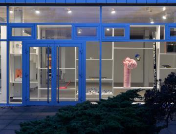 5 Blick auf die Ausstellung mit Arbeiten von Young-jun Tak, Tatjana Doll, Olivia Berckemeyer und anderen