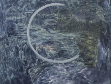 3 Clara Gesang-Gottowt: o.T., Öl auf Leinwand, 2012