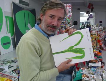 3 Frank Nitsche in seinem Atelier