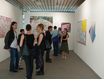 """10 Ausstellungseröffnung """"Drift"""""""