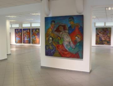 Ausstellungsansicht Harms Cyrill Bellin