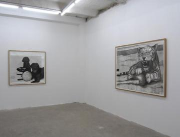 6 For Big Play, 2006 (li.), The Weight of Dead Prey, 2004 (re.)