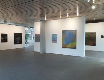 3 Blick in die Ausstellung von Clara Gesang-Gottowt