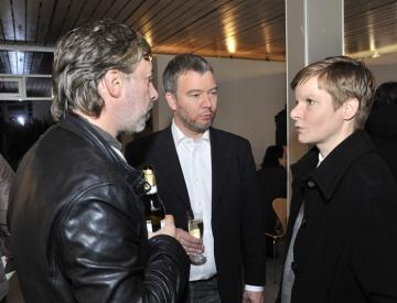 4 Silke Albrecht mit Frank Nitsche (li.) und Gerrit Gohlke
