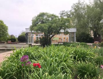 3 Der BKV im Gartendenkmal Freundschaftsinsel