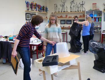 6 Im Workshop mit Antje Blumenstein