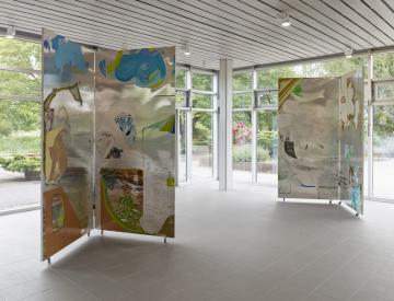 7 Wolfgang Betke: se faire voyant - Ausstellungsansicht
