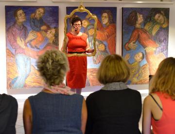 5 Christa Pfeifer bei den Sieben Künsten von Pritzwalk