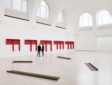 5 Beispiel Kunstverein: Franz Erhard Walther im Kunstverein Hannover