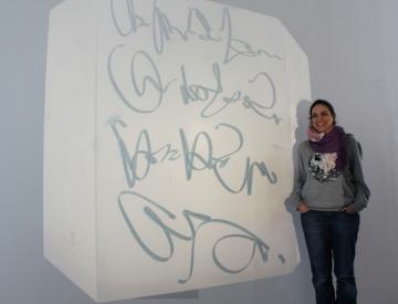 8 Workshop im Ausstellungspavillon des BKV