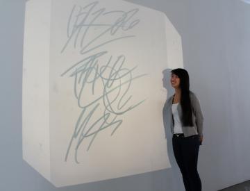 10 Workshop im Ausstellungspavillon des BKV